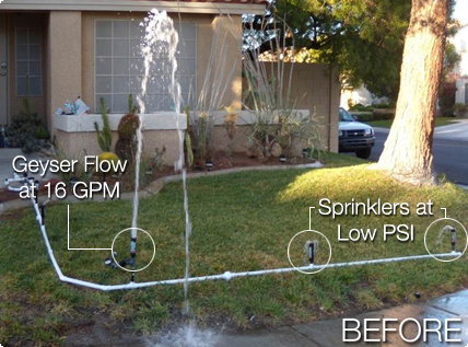 Sprinkler - Before