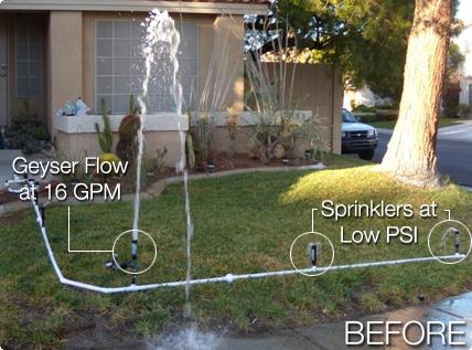 Sprinkler - Before